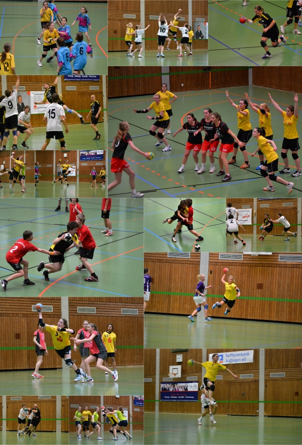 Unsere Handballer in Aktion