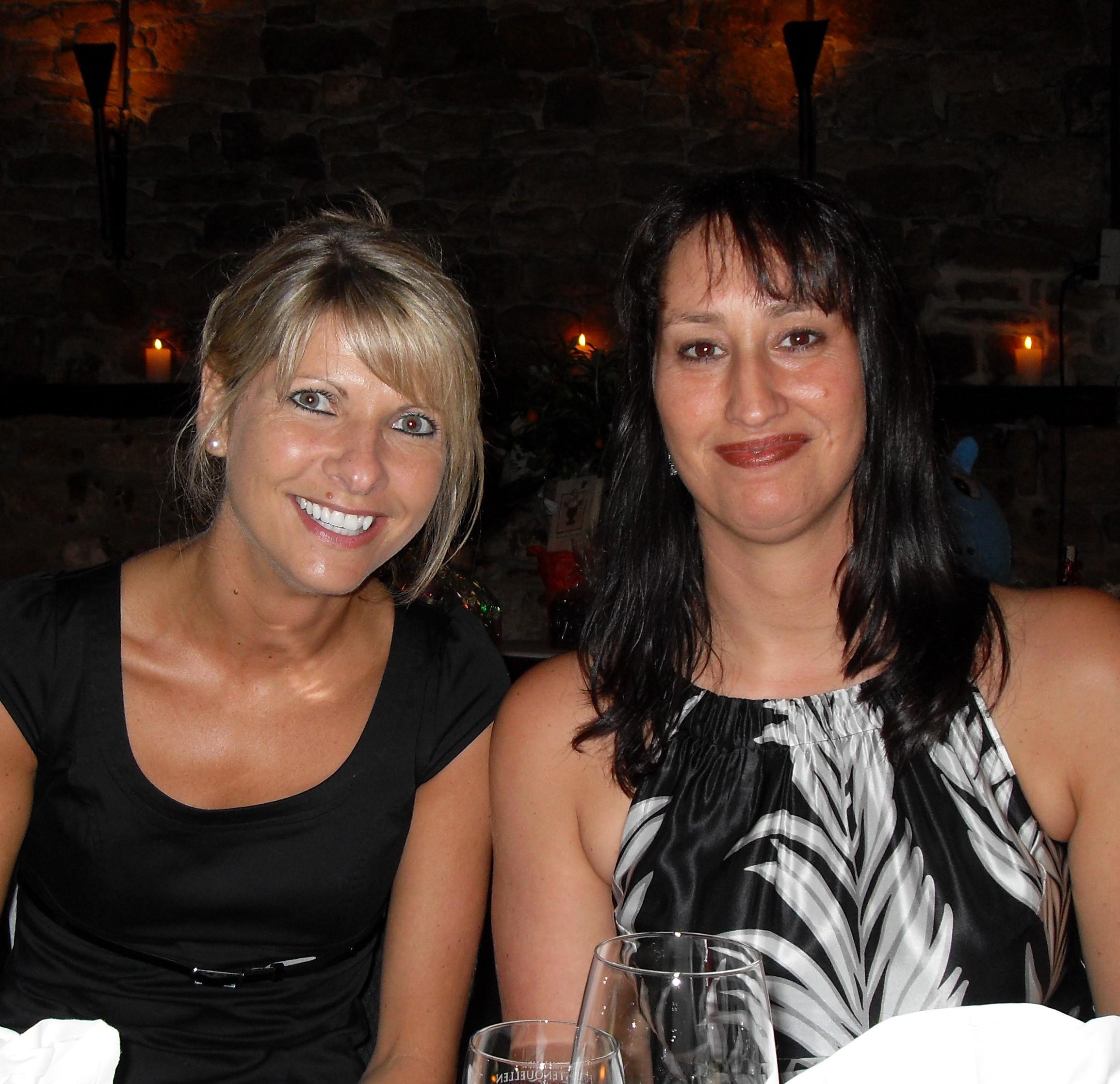 Sandra und Tanja Schneider