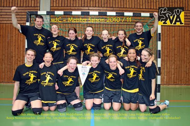 wJC - Meister 2010-11